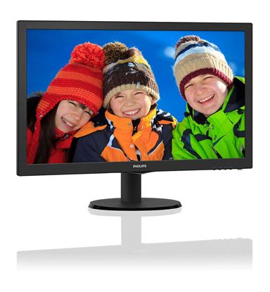 """Slika Monitor Philips 59,9 cm (23,6"""") 243V5QSBA 1920x1080 MVA(IPS) 8ms VGA DVI"""