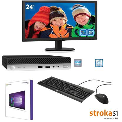 Slika HP 400PD G3 DM i37100T 128G 4G Win10 Pro